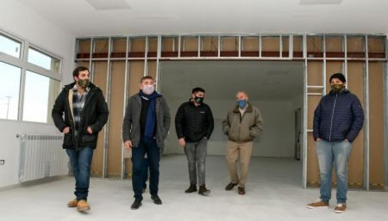 Autoridades de Educación realizaron recorrida de obra en la Escuela Industrial N°6