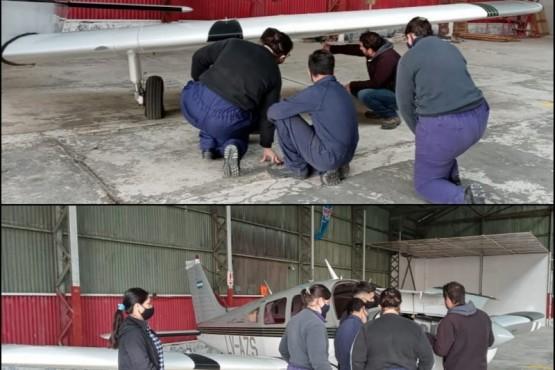 Alumnos de Escuelas Técnicas realizaron sus prácticas profesionalizantes.