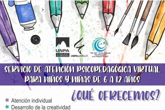 La UNPA-UARG ofrece atención psicopedagógica virtual y de forma gratuita