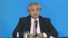 Alberto Fernández defendió la suspensión de clases presenciales