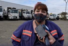 Quién es la primera mujer recolectora de Río Gallegos