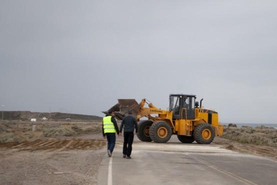 Habilitan el primer tramo reparado sobre Ruta Nacional N° 3 de Caleta Olivia