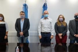 Cotillo recibió a funcionarios de la Jefatura de Gabinete de Nación para trabajar en el proyecto de una ciudad digital