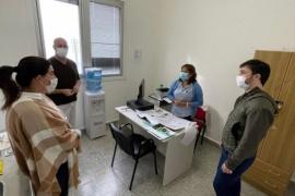 Nacho Torres y Ana Clara Romero visitaron el Hospital Alvear de Comodoro Rivadavia