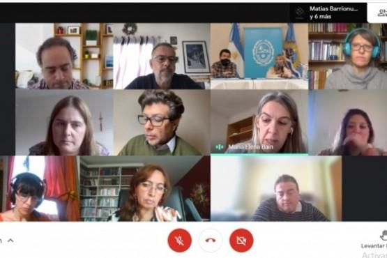 La reunión se realizó en modalidad virtual.