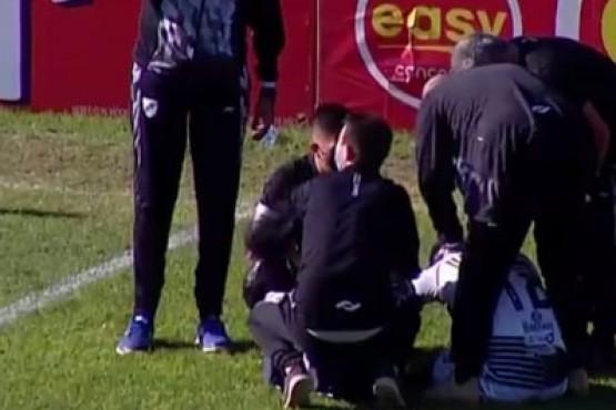 Un futbolista de All Boys se descompensó en medio del partido tras recuperarse de coronavirus