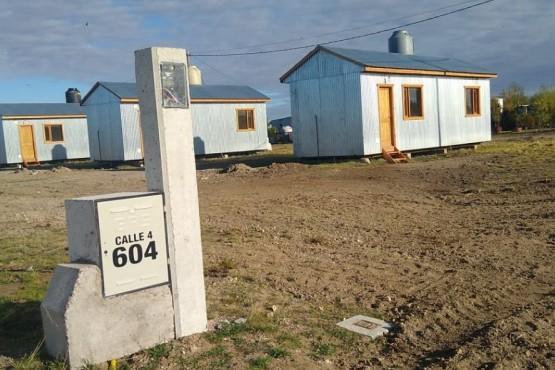 Distrigas realizó obras de vinculación de viviendas rurales a la red de gas en Tellier