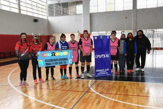"""La campaña municipal """"No a los Ruidos Molestos"""" llegó a la Liga Sur de FUTSAL de Río Gallegos"""