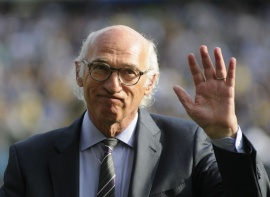 Boca y la Conmebol homenajearon a Carlos Bianchi