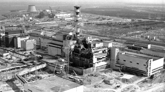 La central nuclear.