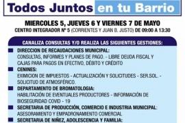 """Desde el miércoles """"Todos Juntos"""" se traslada al Cenin N°5 de Río Gallegos"""