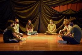 Teatro Municipal de Río Gallegos: volvió el taller de Clown a sus clases presenciales y con todos los protocolos