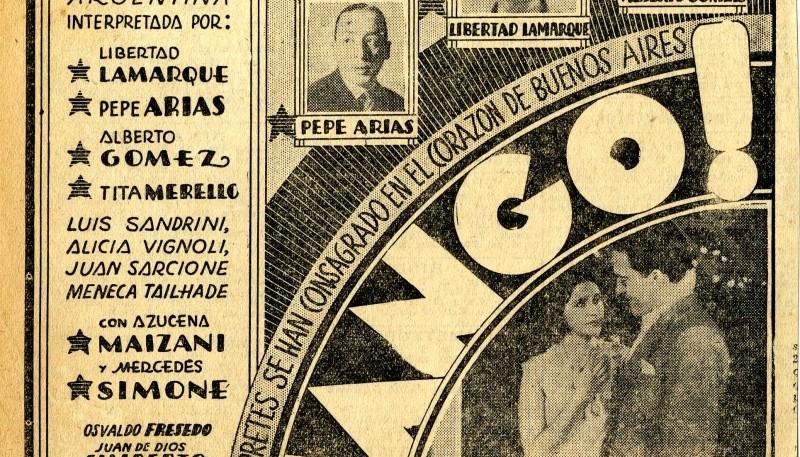 Fue la primera película realizada por Argentina Sono Film.