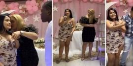 Su novio la engañó con su mamá y organizó una fiesta para escracharlos