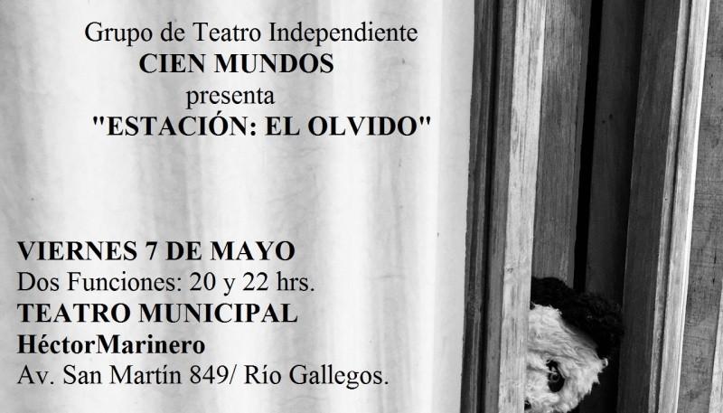 Se realizarán dos funciones en el teatro municipal de Río Gallegos