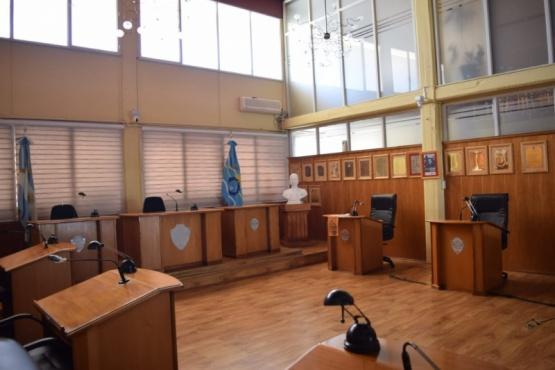 El Concejo Deliberante de Trelew conequipamiento propiode Streaming