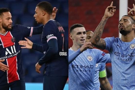 Manchester City dio vuelta el partido y venció al PSG