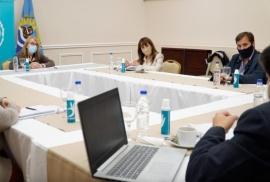 Alicia Kirchner recibió a Roxana Reyes por la situación epidemiológica