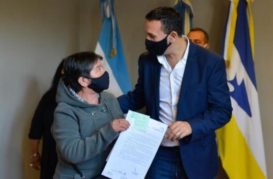 Trelew: Se entregaron nuevas pensiones gestionadas desde el municipio