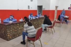 Puerto Santa Cruz: realizan testeos a la población asintomática