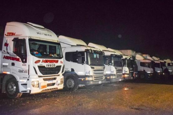 En Río Gallegos asisten a camioneros que estuvieron varados por conflicto en Chile