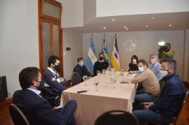 Maderna propició encuentro de UOCRA con el Secretario de Trabajo de Chubut
