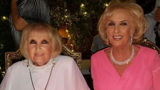 El sentido mensaje de Mirtha Legrand a un año de la muerte de su hermana Goldy