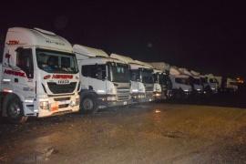 Municipio de Río Gallegos asistió a los camioneros varados