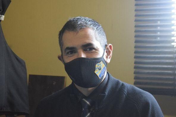 Jefe de la División de Apoyo Tecnológico, Guillermo Carrizo