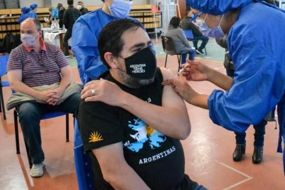 Fernando Alturria en el gimnasio 17 de Octubre.