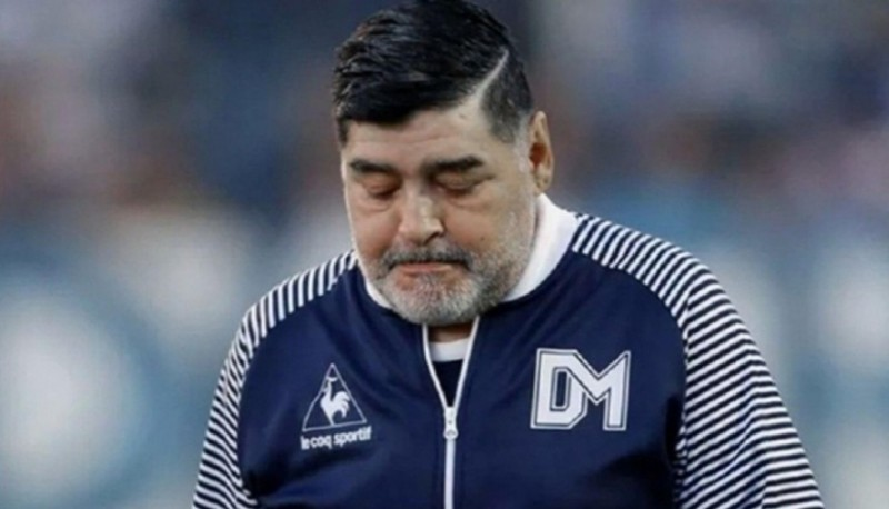 """""""Me duelen"""", dramático audio de Diego Maradona para uno de sus médicos"""
