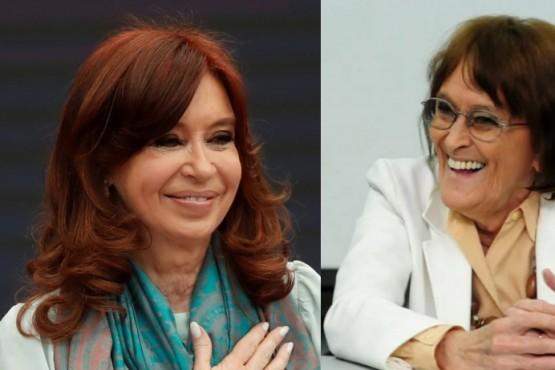 """Se hicieron buenos amigos con Máximo"", la despedida de Cristina Kirchner a Alcira Argumedo"