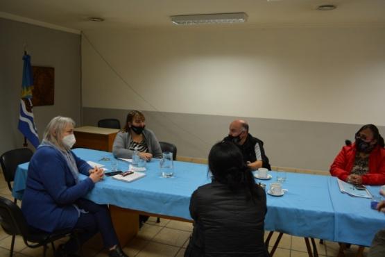 Reunión de Desarrollo Social y Asociación de EPF