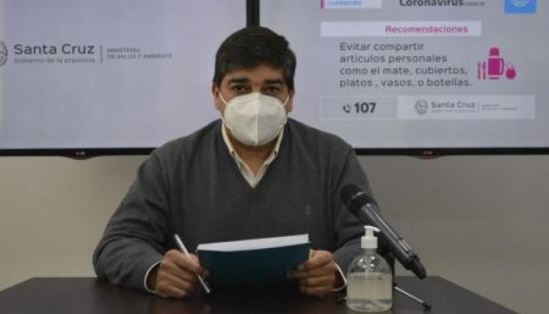 """García: """"Mañana comienza la vacunación a mayores de 35 años con comorbilidades graves"""""""