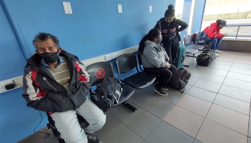 Terminal con campera