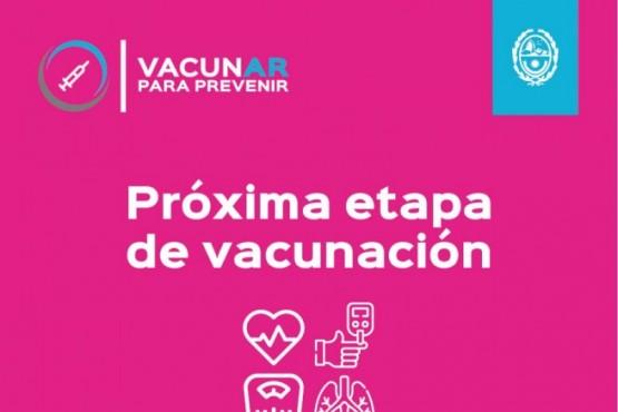 La vacunación para este grupo etario comenzará mañana miércoles 5 de mayo.