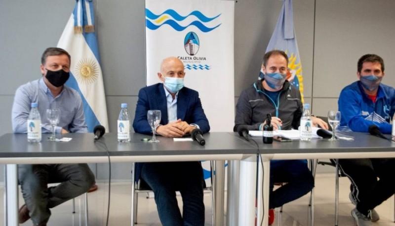 El intendente Fernando Cotillo encabezó el encuentro.