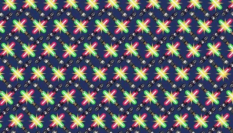 Reto viral: hay 2 sables de luz más cortos en la imagen y tienes que hallarlos
