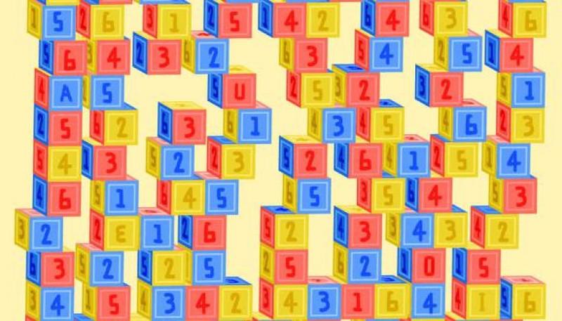 ¿Qué tan rápido puedes encontrar las vocales en los cubos? Participa en este reto viral