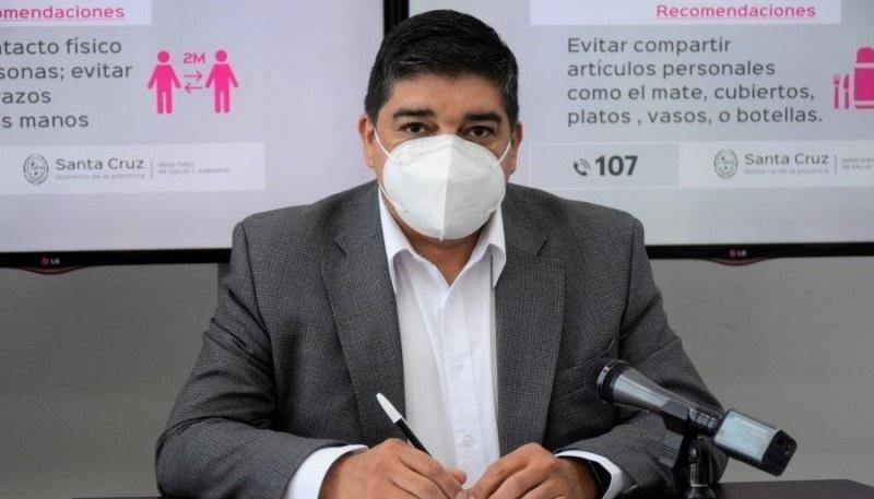 El Ministro Claudio García habló del caso COVID con cepa Manaos.