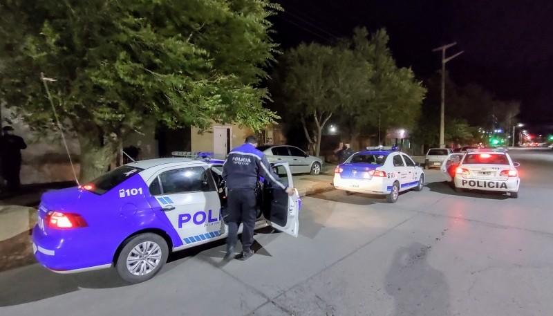 Los policías investigan el hecho. (Foto: C.G.)