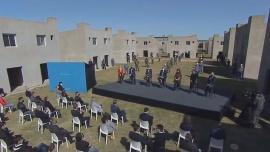 El Presidente encabeza un acto junto a Cristina Kirchner, Kicillof y Massa