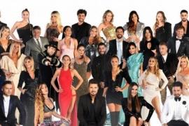 La foto oficial de Marcelo Tinelli con los participantes y el jurado
