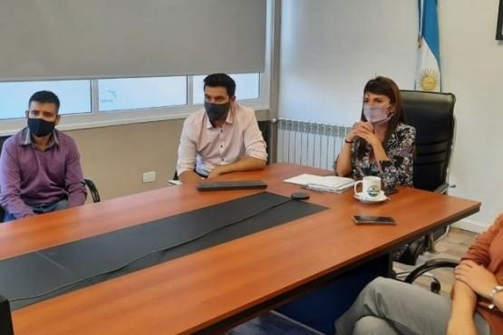 Autoridades provinciales se reunieron con IEASA, UTE y cámaras provinciales
