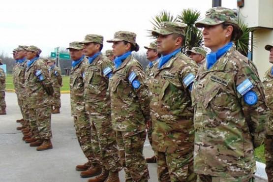 Menna impulsa reconocer al personal argentino militar delas Misiones de Paz de la ONU