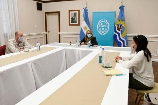 Alicia recibió a representantes de Río Turbio para analizar proyectos en común