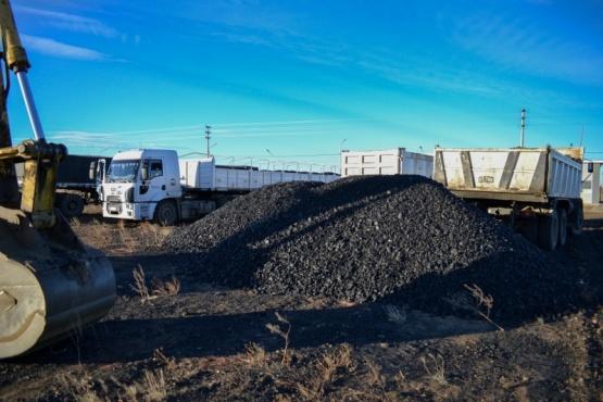 Carbón para los barrios.