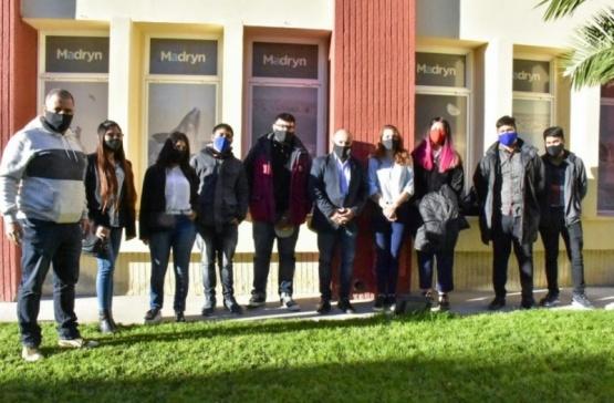 El intendente de Madryn se reunió con los jovenes