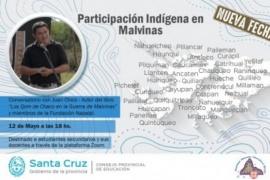 """Educación propone el Conversatorio """"Participación Indígena en Malvinas"""" a estudiantes y docentes secundarios"""