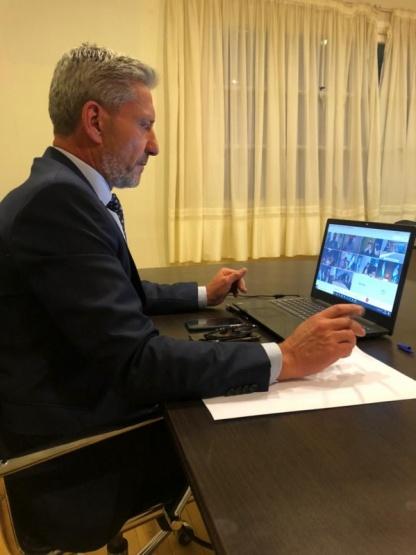 Covid-19: Arcioni evaluó con Vizzotti y los gobernadores patagónicos la situación epidemiológica
